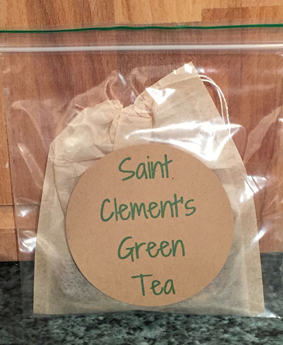 Saint Clement's Teabag