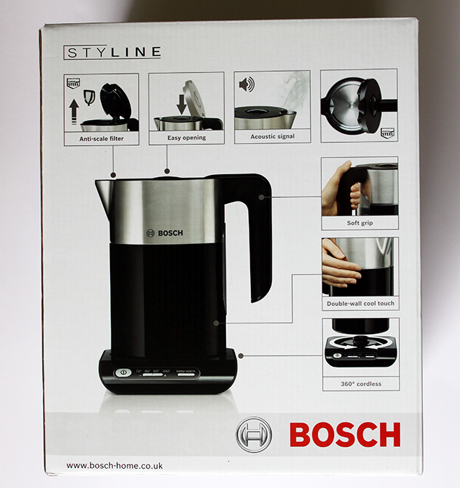 Buy Bosch TWK8631GB Styline Collection