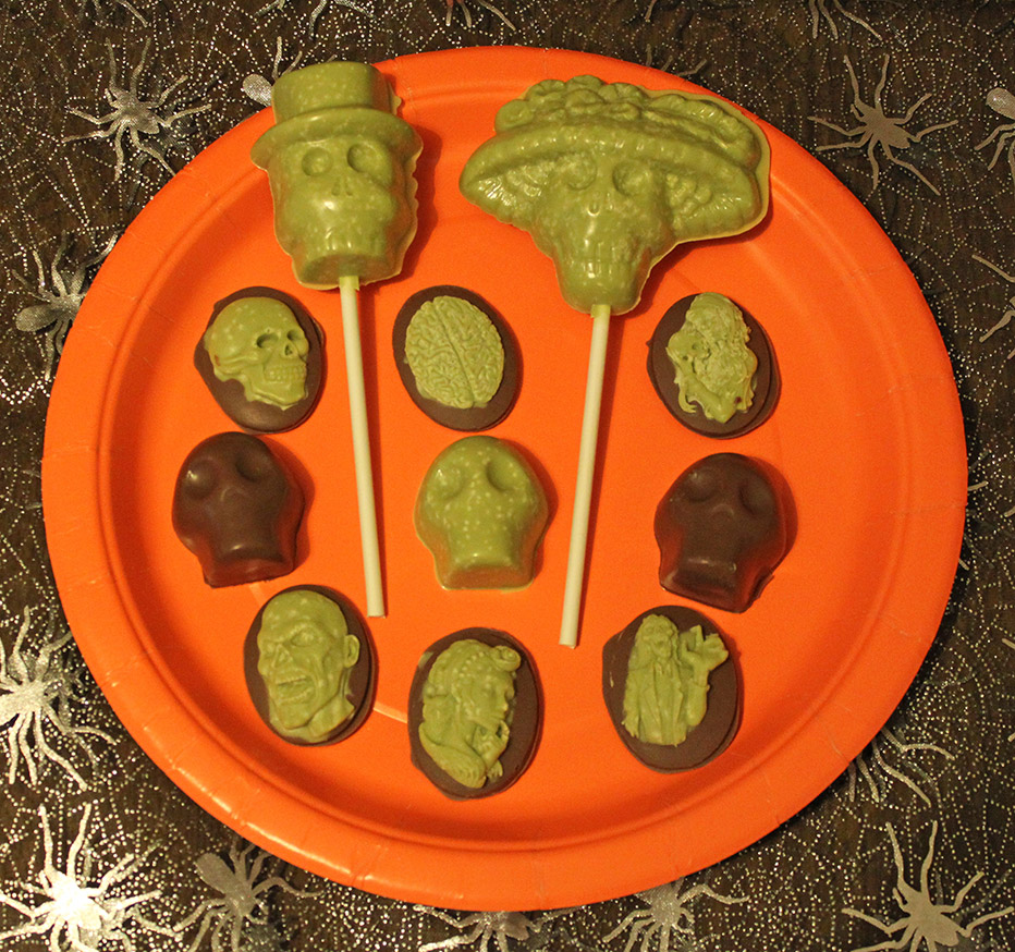 Matcha chocolate & lollies