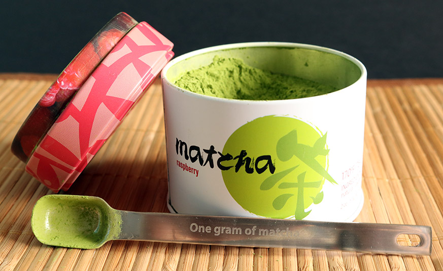 Still loving my perfect serving matcha spoon!